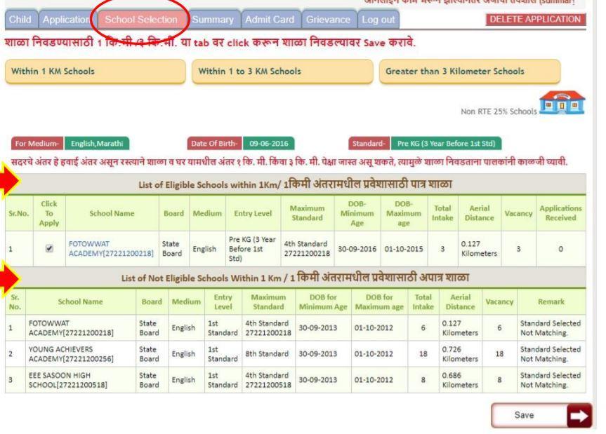 RTE Maharashtra Online Admission 2021-22