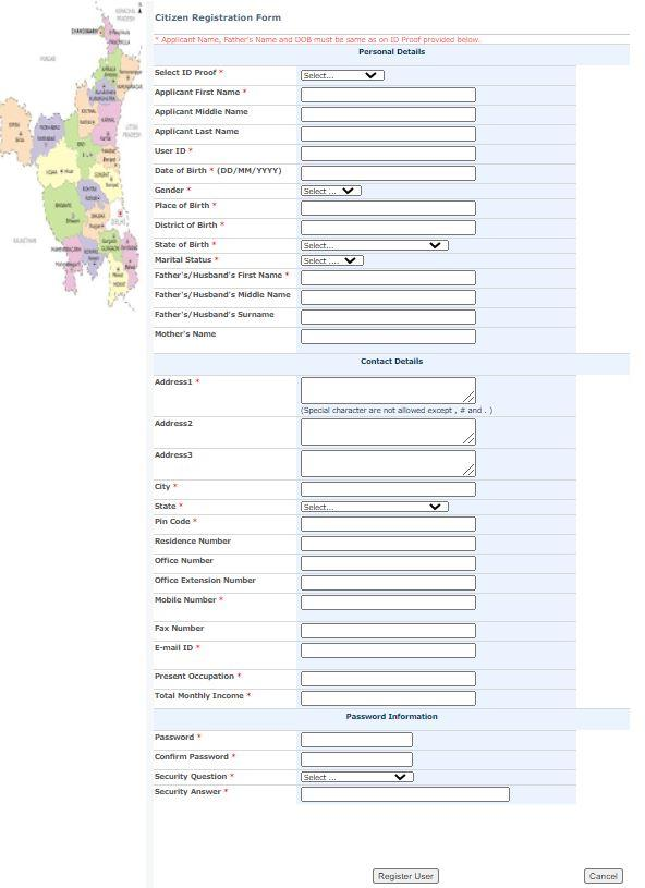 HUDA Plot Scheme 2021 Registration Form