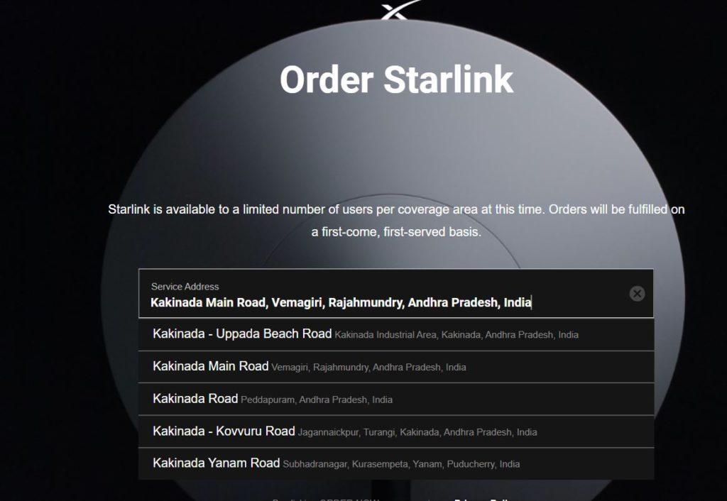 Elon Musk Star Link Broadband Internet Pre Booking India