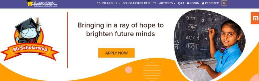 Mi Scholarship 2021-22
