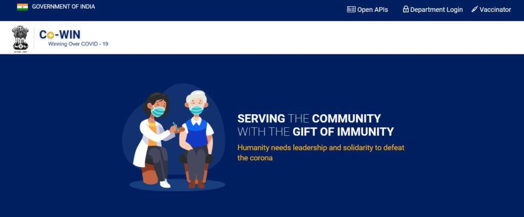 Co Win 2.0 Vaccination Online