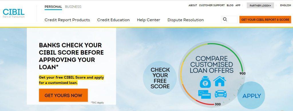 Check CIBIL Score for Free
