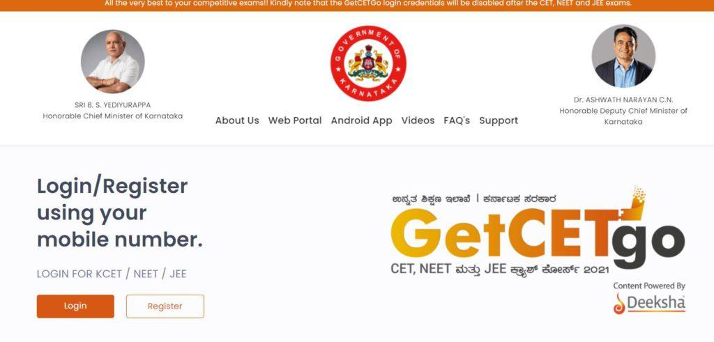 Apply for GetCETGo (NEET, JEE, KCET) Crash Course