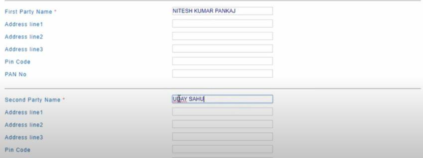 Online E-Stamping Payment System