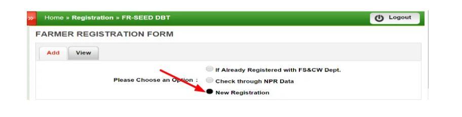 Odisha Agrisnet New Farmer ID Registration