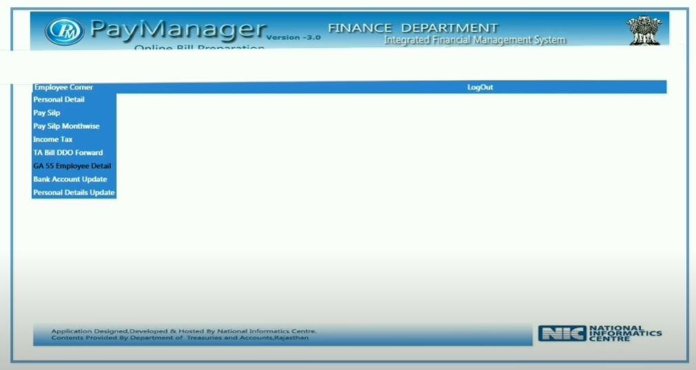 PayManager पोर्टल पर आयकर विवरण डाउनलोड करें