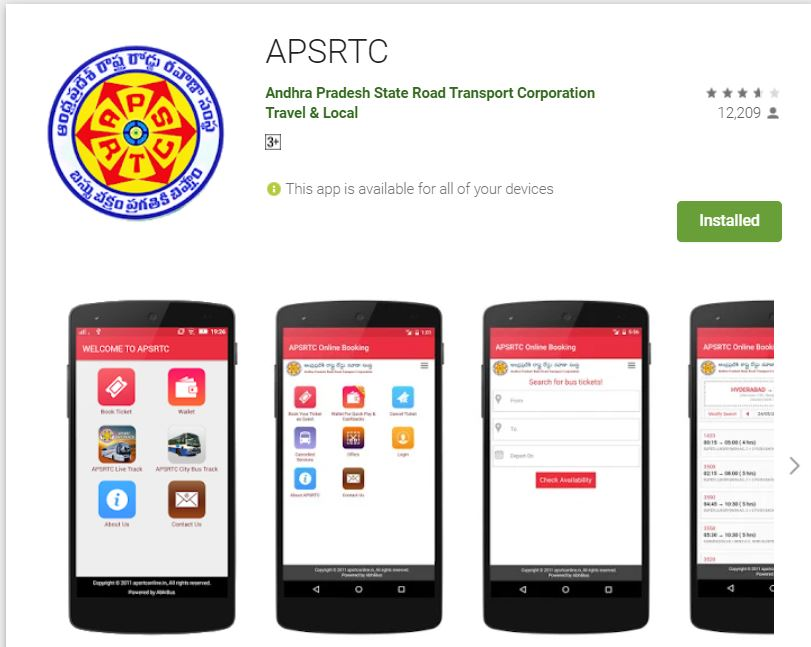 Step by Step Guide to Download the APSRTC Mobile App