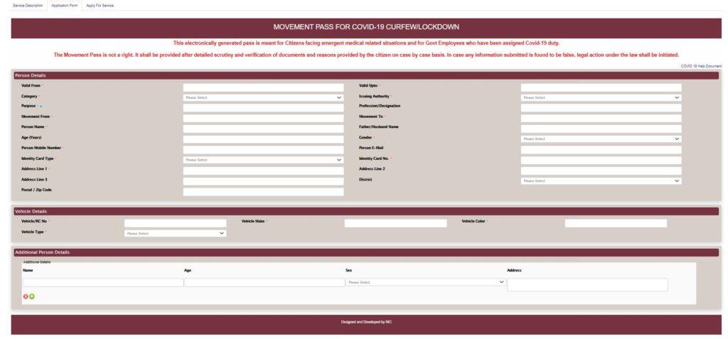 Haryana E Pass 2021   Curfew, Night Pass, Apply Online @saralharyana portal