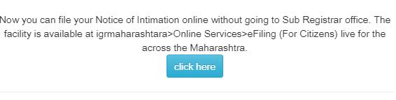 New User Registration on Maharasthra Property Online Slot Booking