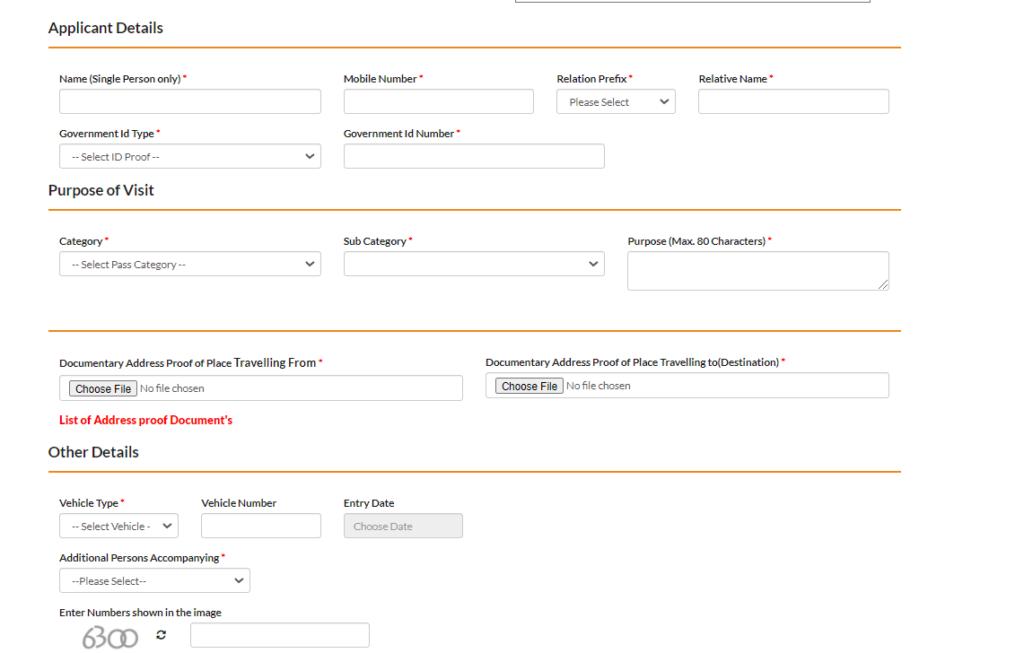 HP Covid 19 Online Registration Form 2021