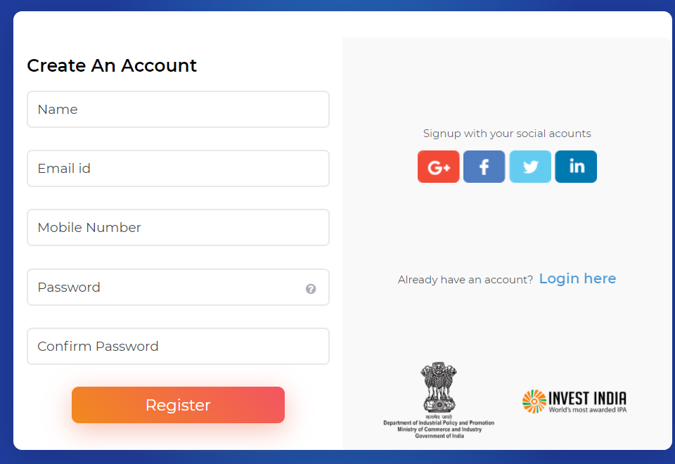 Apply Online for Startup India Seed Fund Scheme