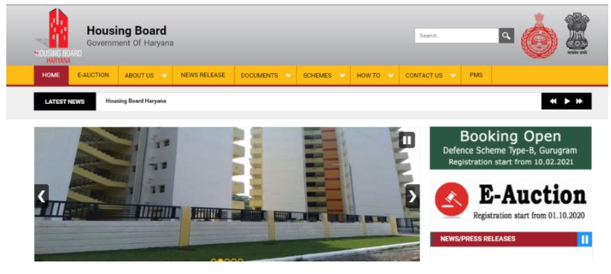 हरियाणा हाउसिंग बोर्ड योजना के लिए ऑनलाइन आवेदन करें
