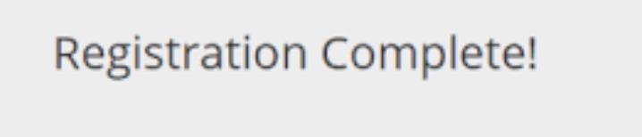cowin portal registration successful