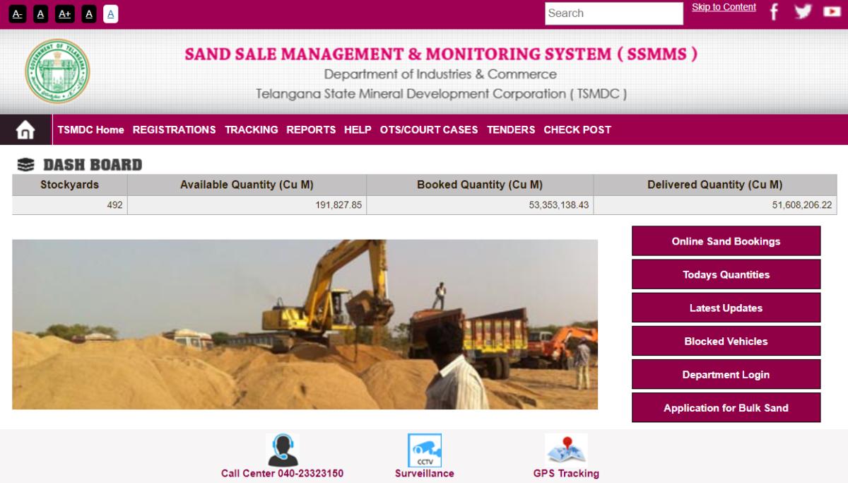 New User Registration for Telangana Booking Portal