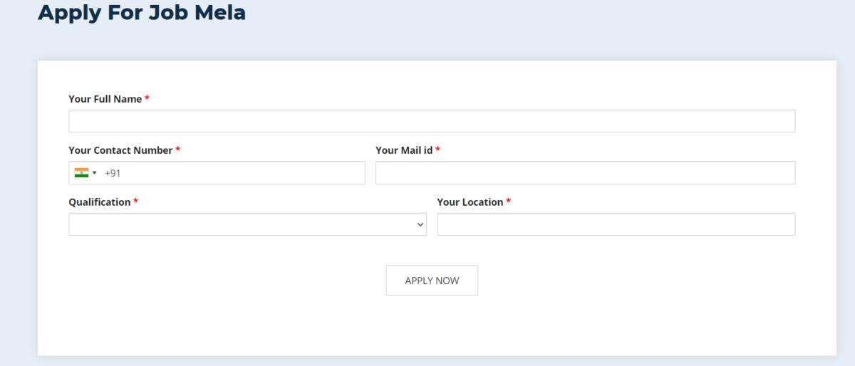 Apply AP YSRCP Job Mela  2021