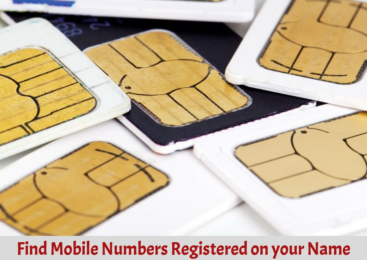 find mobile number on your name