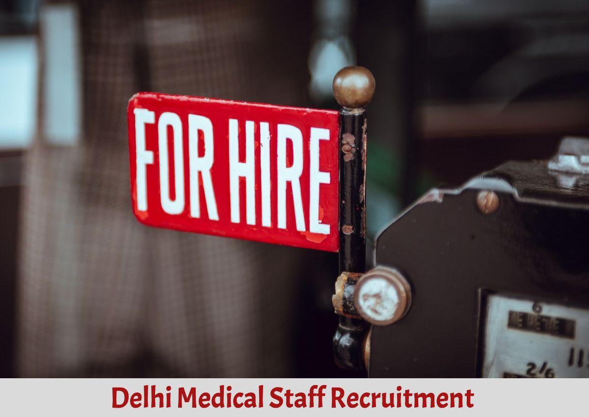 para medical staff delhi recruitment