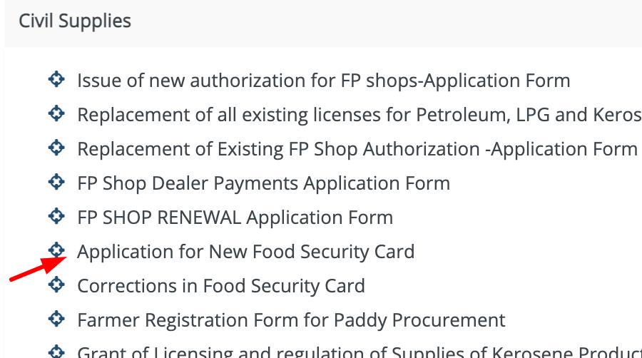 TS Telangana Ration Card 2021   Online Apply, Status, New List, FSC Search Name @epds portal