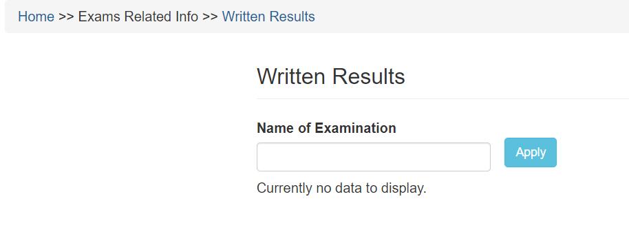 NDA 1 2021 Written Exam Result www.upsc.gov.in