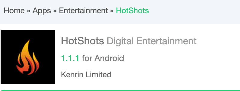 hotshots digital entertainment app apk download