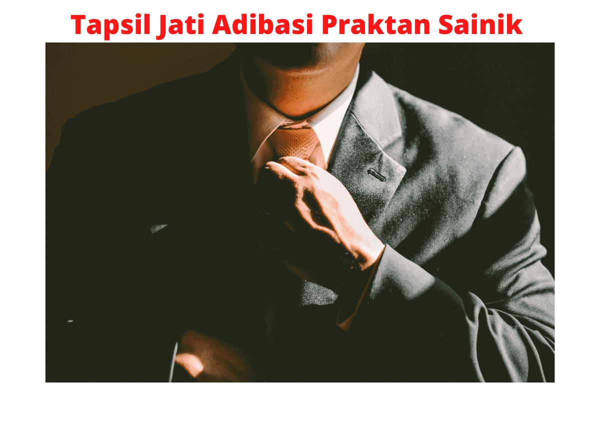 Tapsil Jati Adibasi Praktan Sainik