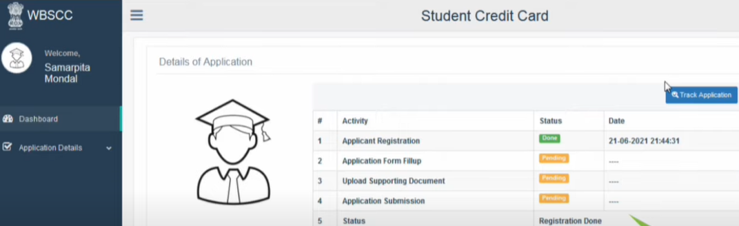 Track WBSCC Application Status Online