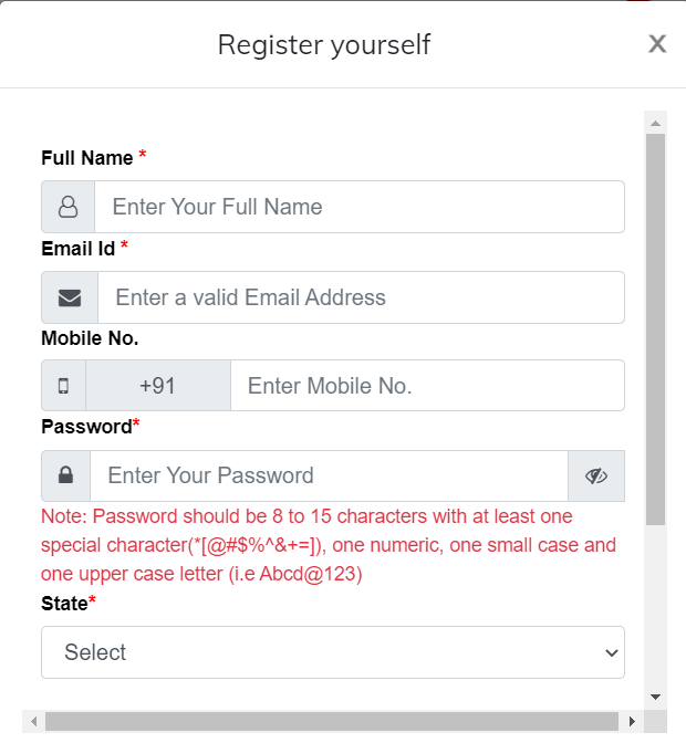 How To Register on Service Plus