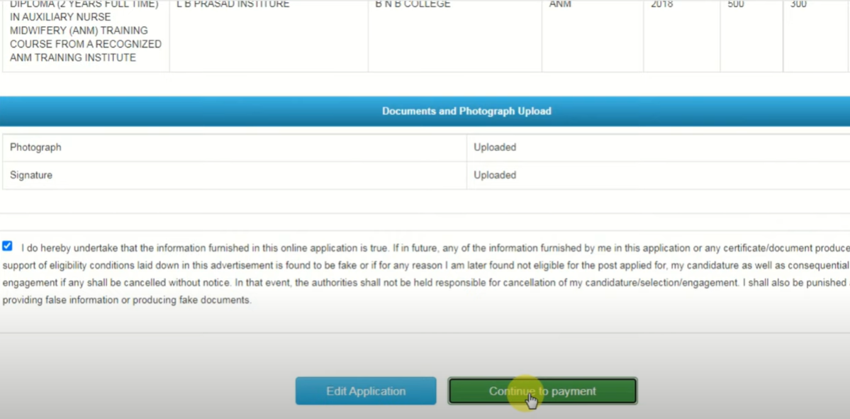 Bihar ANM Recruitment Apply 2021