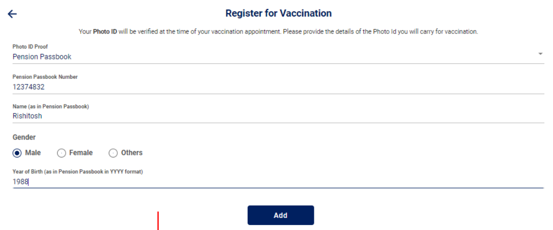 Cowin Registration Online