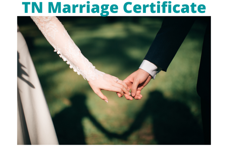 TN Marriage Certificate