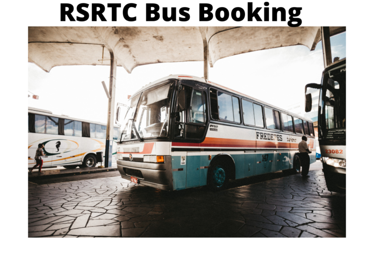 RSRTC Bus Booking