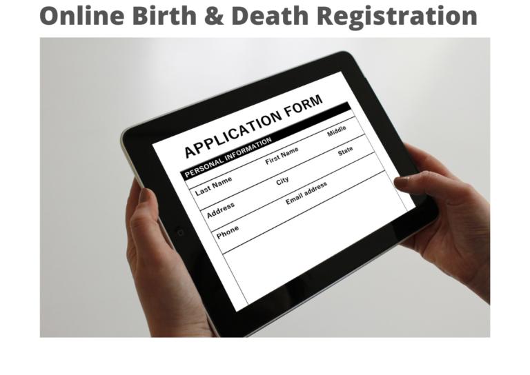 Online Birth & Death Registration