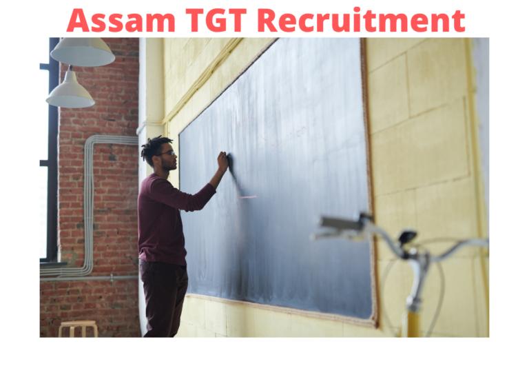 Assam TGT Recruitment