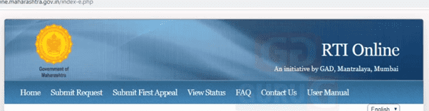 Check RTI Maharashtra Application Status Online