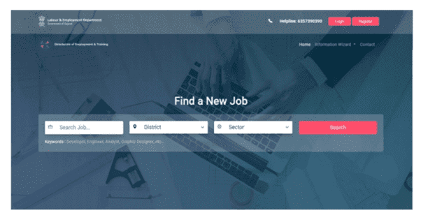 Anubandham Portal New Job Seeker Registration