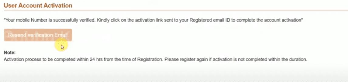 Shirdi Darshan New User Registration