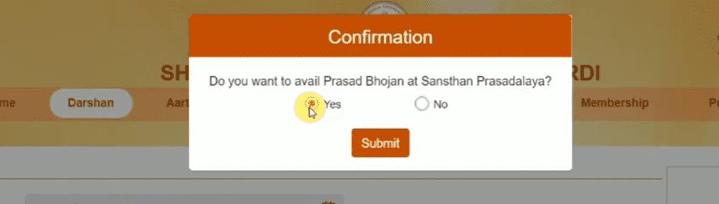 Book Shri Shirdi Sai Darshan Free/Paid Tickets Online