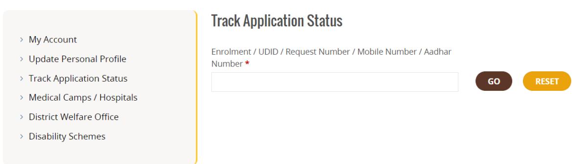 How to Check Swavalamban Card Application Status