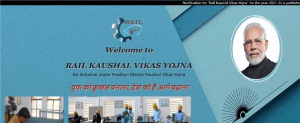 Apply Online The Rail Kaushal Vikash Yojana 2021