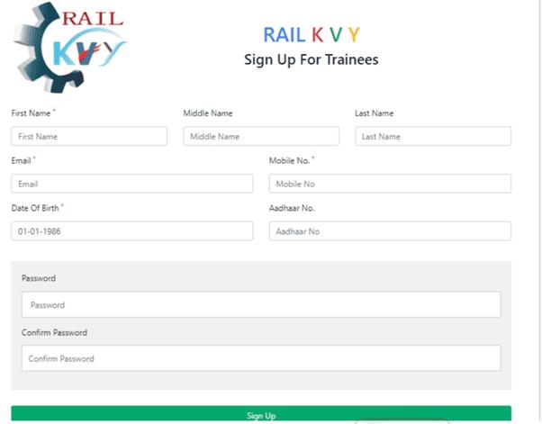 Apply Rail Kaushal Vikas Yojana 2021
