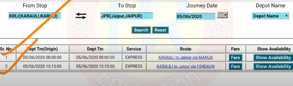How to Book Rajasthan RSRTC Bus Tickets Online