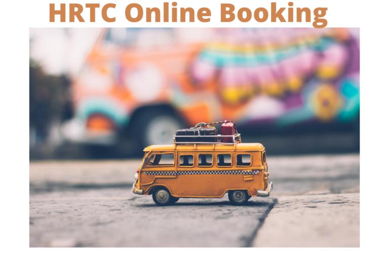 HRTC Online Booking