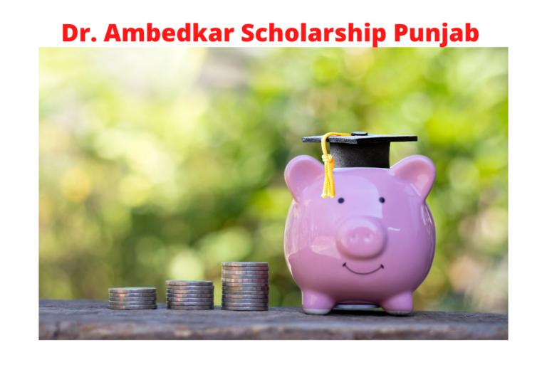 Dr. Ambedkar Scholarship Punjab