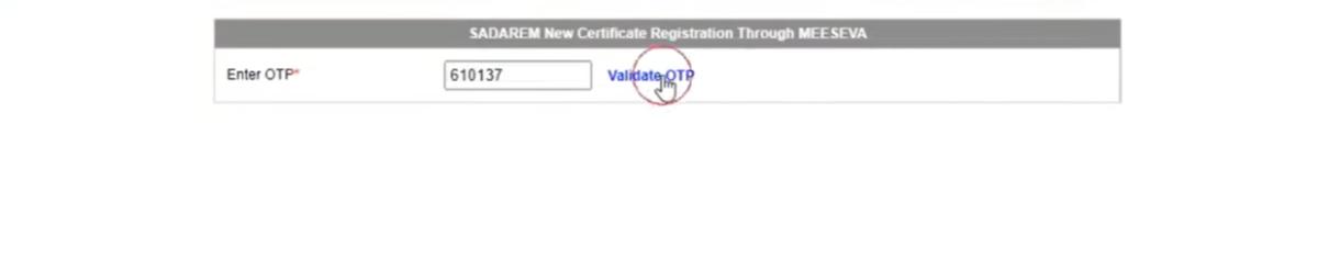 Sadarem Slot Booking AP   Book Online for New Certificate Generation, Download @sadarem.ap.gov.in