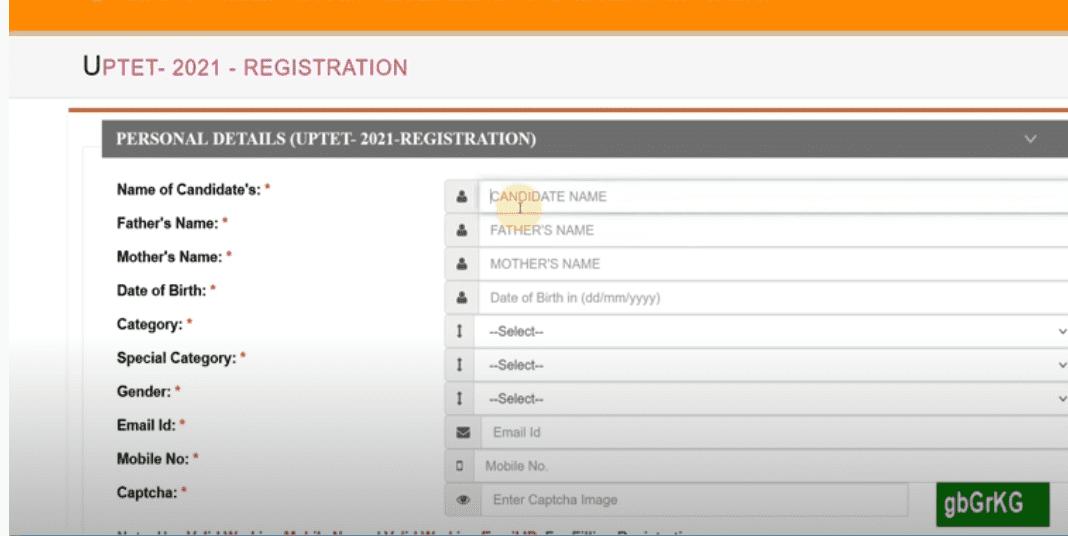 UP TET 2021, Notification PDF, Apply, Online Registration @updeled.gov.in