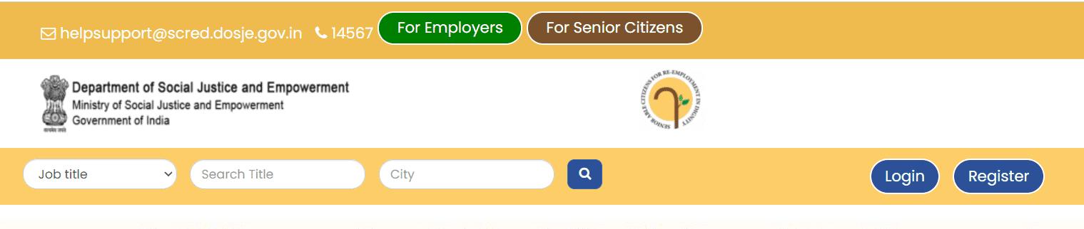 SACRED Senior Citizen Portal Login, Apply Jobs Online