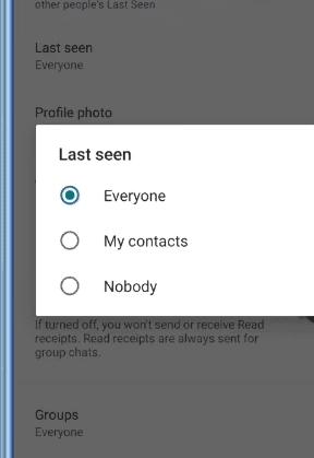 WhatsApp Last Seen Tracker